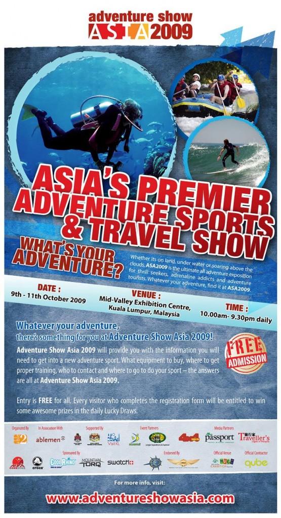 Adventure Show Asia 2009 Ad