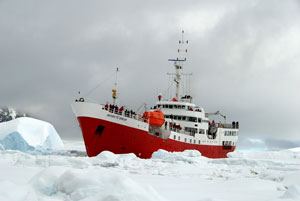 Antarctic Dream Botes Atrapados