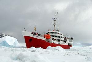 Antarctic Dream Botes Atrapados