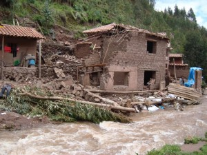 Flooding in Peru