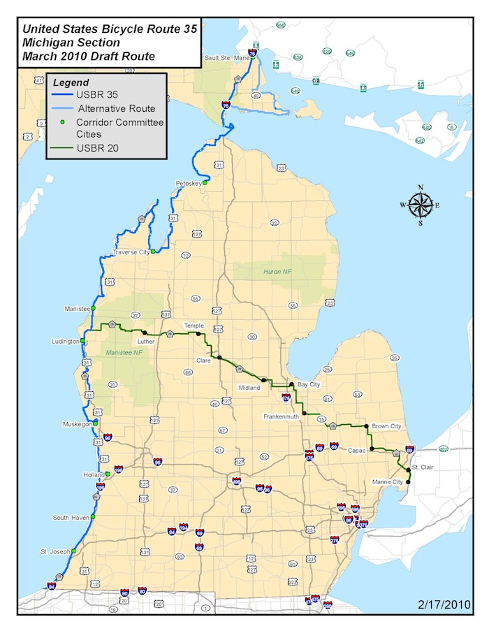 AASHTO Approves New US Bicycle Routes Across America Adventure - Us bicycle route system map