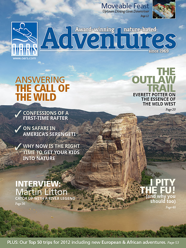 O.A.R.S. Reinvents the Travel Catalog for 2012 – Cuts Sales Copy ...