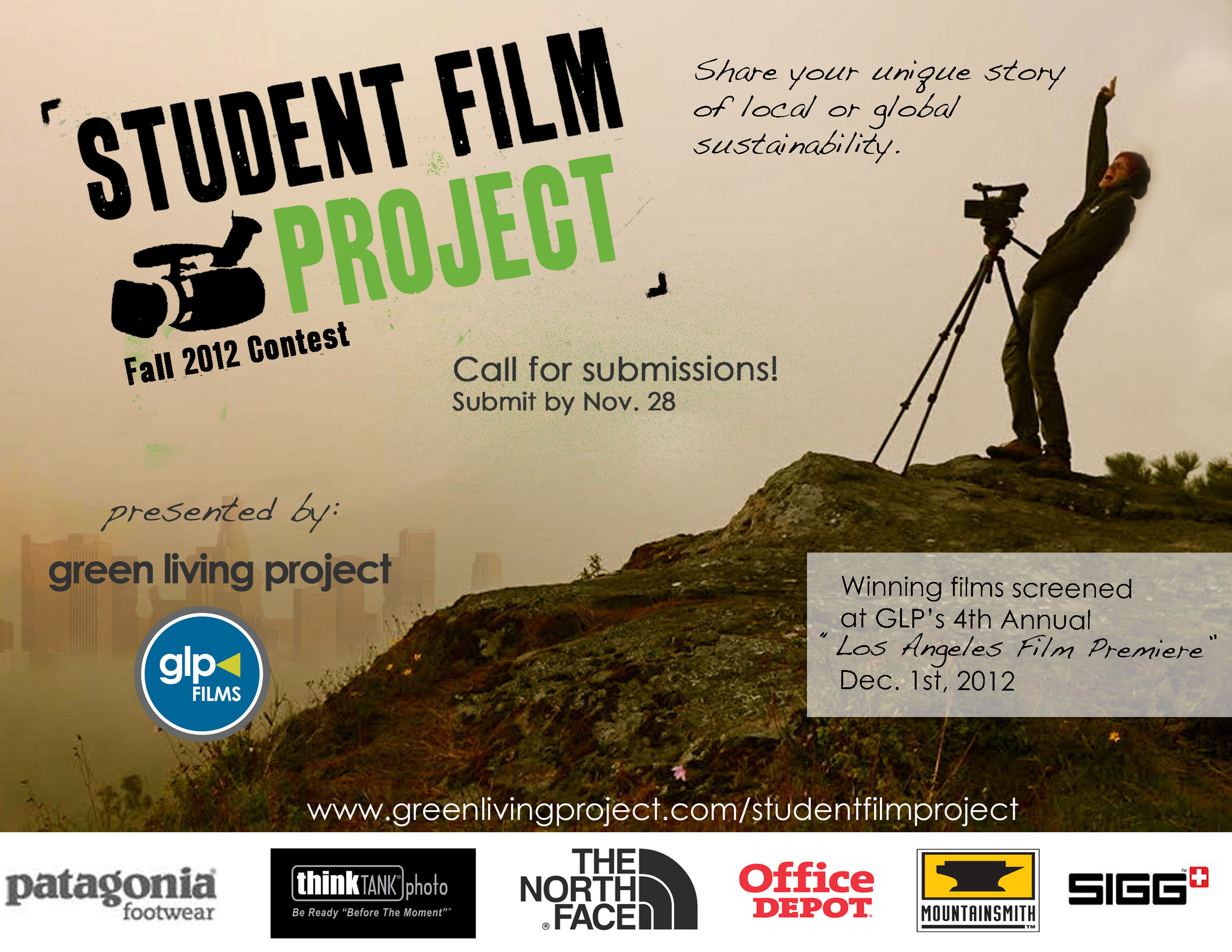Green Living Projects Student Film Project Contest ...