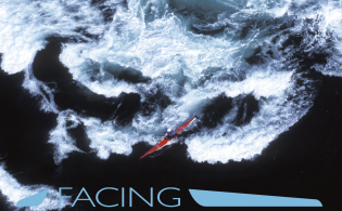 Facing Waves with Eddyline in San Juan