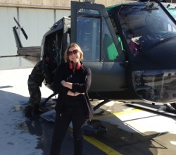 Gringo Trails Director Pegi Vail in Albania