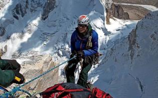 Climbing in the Himalayas. Photo: Jimmy Chin