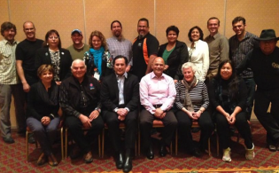 Some of the participants at the WINTA Network Meeting held on 17 April 2014 in Whistler, BC, Canada.