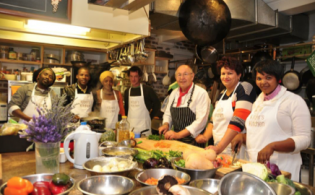 Image above: Knysna's Green Chefs