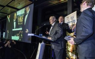 Local Government Award for Tourism: Oberon Mayor John McMahon and Oberon Council General Manager Alan Cairney.