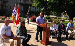 Government of Canada Annoucement Ab Tourism BC August 2014