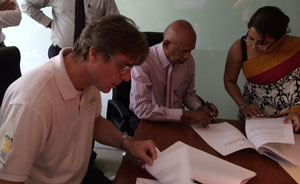 Willem Niemeijer (left), Founder & CEO, Khiri Group, Lakshman Samarasinghe - Chairman, Galle Face Hotel Group
