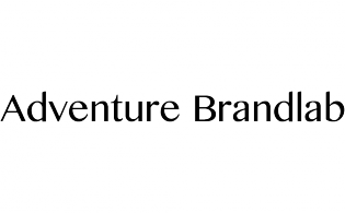 Black logo Adventure Brandlab