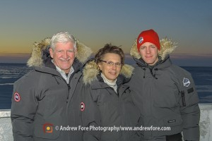 Marv, Lynda and John Gunter