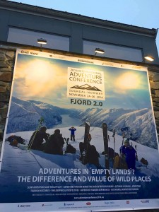conference banner sogndal Norway