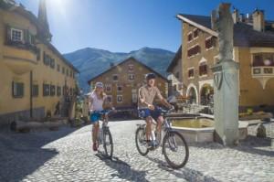ENGADIN St. Moritz: E-Bike Fahren