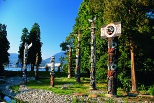 Stanley Park Totem Poles A copy