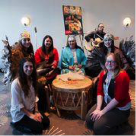 Music was an important part of the conference, as music tells the stories of many indigenous groups until today.