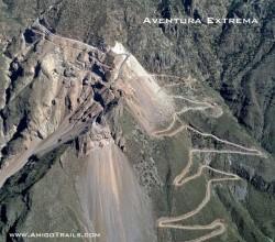 AT batopilas canyon road partially paved