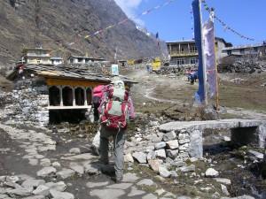 Langtang village-Before earthquacke