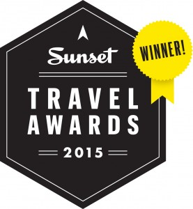 2015 Sunset Travel Awards Winner Logo