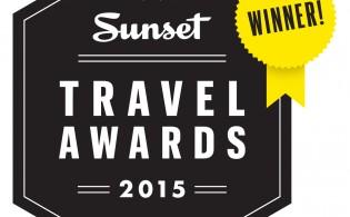 2015 Sunset Travel Awards Winner Logo