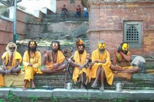 Nepal_Kathmandu_Pashupati_saddhus