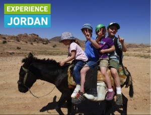 Experience Jordan - Kids on donkey