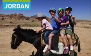 Experience Jordan - Kids on donkey