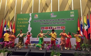 Adventure had its place at the Mekong Tourism Forum's marketing workshop in Vietnam in June. Photo credit: Mekong Tourism Coordinating Office
