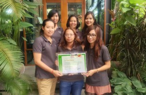 Members of the Khiri Thailand 'green team'.