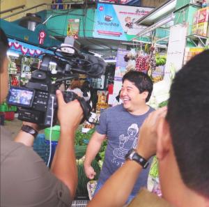 Lima filming chef Mitsuharu