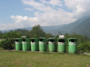 In Sikkim KCC partners work with government to collect and recycle garbage. Photo: Karma Quest