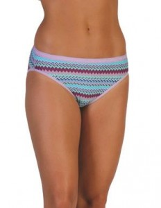 ExOfficio Give-N-Go Bikini Brief in Deep Sea Stripe