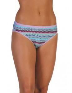 ExOfficio Give-N-Go Bikini Brief in Deep Sea Stripe