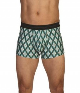ExOfficio Give-N-Go 3-inch Boxer Brief in Hops/Argyle