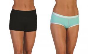 ExOfficio Give-N-Go Sport Mesh 2-inch Boy Short in Black and Sport Mesh Hipkini in Isla