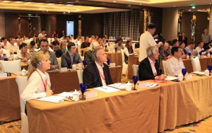 Attendees of AGM participating in a workshop session focused on trends in destination management.
