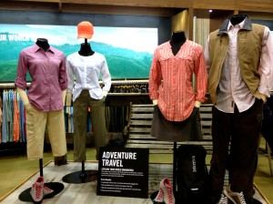 ExOfficio designs clothes with adventure travelers in mind.