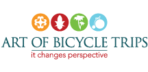 Art of Bicycle Trips Logo for Cleartrip