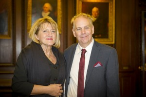 Picture: L/R: Ms Gordana Plamenac, CEO, National Tourism Organisation of Serbia, and Mr Mario Hardy, CEO, Pacific Asia Travel Association at the PATA Fourth Aligned Advocacy Dinner at Stationers' Hall in London, United Kingdom on November 2, 2015. (Photo courtesy of Simon Harvey Photography)