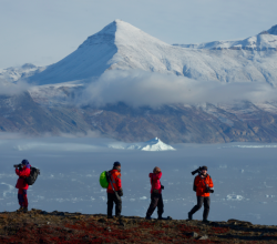 Adventure Canada's Travel Agent Contest Grand Prize winner receives a passage for two on select Adventure Canada expeditions, including the above pictured 'Out of the Northwest Passage.'
