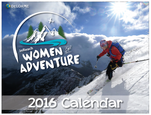 Women of Adventure Calendar Cover