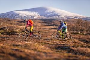 Biking Storulva?n Ja?mtland, Sweden  - Niclas Vestfjell:jamtland.se