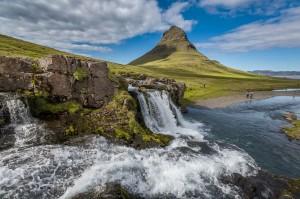 Kirkjufellsfoss Sumarid, Iceland :Visiticeland.com