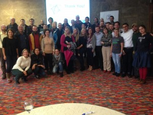 AdventureEDU Kosovo participant group photo.
