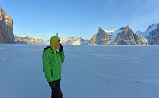 Longtime user Mike Libecki (A National Geographic Adventurer of the Year for 2013) using our phones