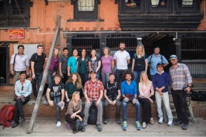 AdventureWeek Rebound Nepal participants – a group of global media and tour operators picked to help bring tourists back to Nepal through stories and exciting new itineraries.