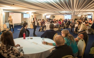 The Peer-to-Peer session at the 2015 Adventure Travel World Summit in Chile