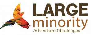Large Minority Logo Tag