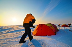 Camping in the North Pole / © Petter Thorsen/Wild Norway